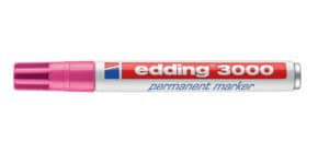 Permanentmarker 3000 1,5-3mm rosa EDDING 3000-009 Rundspitze nachfüllbar Produktbild