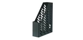 Stehsammler A4 schwarz HAN 1601-13 Plastikgitter 76mm Produktbild