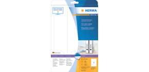 Ordneretiketten 61x297mm weiß HERMA 5135 Produktbild