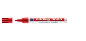 Permanentmarker rot EDDING 3000-002 1,5-3mm Produktbild