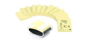 Haftnotiz Dispenser Z-Notes +12BL gelb POST-IT C2014Y12 Recycling Produktbild