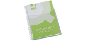 Klarsichthülle A4 5ST transparent Q-CONNECT KF00139 Produktbild
