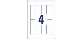 Tischkarte 110x40 100ST ZWECKFORM C3225325 Produktbild