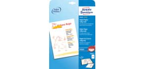 Inkjet Fotopapier A4 120g 50 Blatt weiß ZWECKFORM 2596-50 Produktbild