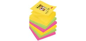 Haftnotizblock 6x90 Blatt 76x76mm POST-IT R3306SR SuperSticky Produktbild