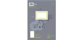 Notizblock A4 100BL blanko URSUS 036496 00 perforiert Produktbild