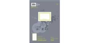 Notizblock A4 100BL liniert URSUS 036496 10 perforiert Produktbild