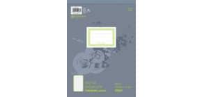 Notizblock A4 100BL kariert URSUS 036496 20 perforiert Produktbild