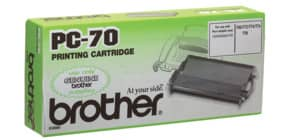 Thermotransferrolle BROTHER PC70 Produktbild