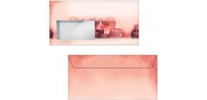 Weihn.Design Kuvert 50ST Red Candlelight Produktbild