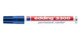 Permanentmarker 3300 1-5mm blau EDDING 3300-003 Keilspitze nachfüllbar Produktbild