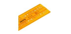 Schriftschablone gerade 5 mm ARISTO AR5301/5 Produktbild