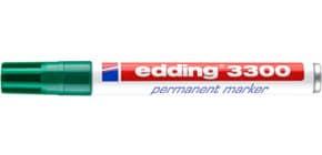 Permanentmarker 3300 1-5mm grün EDDING 3300-004 Keilspitze nachfüllbar Produktbild