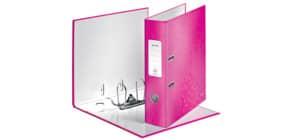 Ordner A4 8cm Wow pink metall. LEITZ 1005-00-23 Produktbild