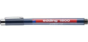 Pigmentliner Profipen schwarz EDDING 4180005001 0,5mm Produktbild