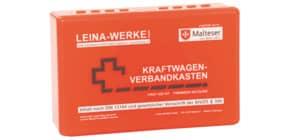 KFZ-Verbandkasten Standard rot LEINA 635140/10005 DIN 13164 Produktbild