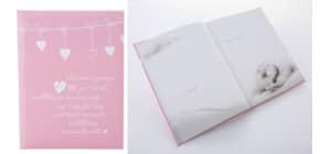 Babytagebuch Poetry rosa Produktbild