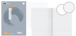 Kanzleipapier A3 gefalzt auf A4 kariert 25BL URSUS 045003 20 gefalzt Produktbild