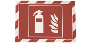Prospekttasche 2 Stück rot weiß DURABLE 4944 132 A4 Produktbild