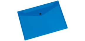 Aktentasche A4 quer blau Q-CONNECT KF03596/01242 Produktbild