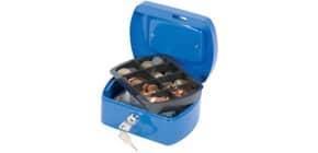 Geldkassette Gr.1 blau Q-CONNECT KF02608 Produktbild