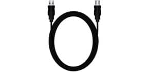 Verlängerungskabel A/A 3m schwarz MEDIARANGE MRCS111 USB 2.0 Produktbild
