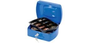 Geldkassette Gr. 2 blau Q-CONNECT KF02623/145203X Produktbild