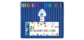 Farbstiftetui 24ST sort. STAEDTLER 157 SB24 Ergosoft Produktbild