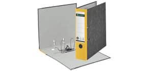 Ordner Pappe A4 8cm gelb LEITZ 1080-50-15 Produktbild