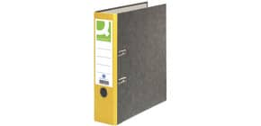 Ordner Pappe A4 80mm gelb Q-CONNECT KF18712/15063424000 Produktbild