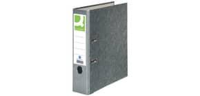 Ordner Pappe A4 80mm grau Q-CONNECT KF18713/15063426000 Produktbild