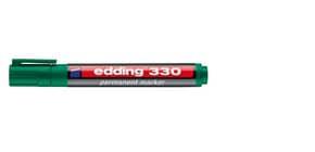 Permanentmarker 330 1-5mm grün EDDING 330-004 Keilspitze nachfüllbar Produktbild