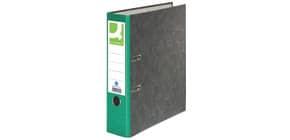 Ordner Pappe A4 80mm grün Q-CONNECT KF18714/15063428000 Produktbild