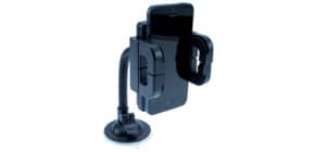Halter Smartphone schwarz MEDIA RANGE MRMA201 universal Produktbild