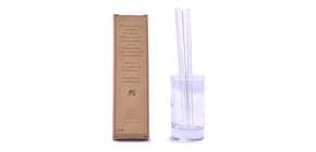 Trinkhalm Glas 4er S transparent Produktbild