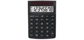 Öko-Tischrechner Eco310 schw. REBELL ECO 310BX 8stellig 102x143x29mm Produktbild