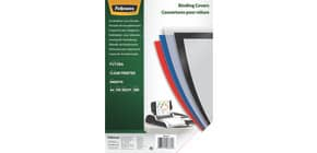 Einbanddeckel Futura A4 tr.matt FELLOWES FW5376501 100ST 280µm Produktbild