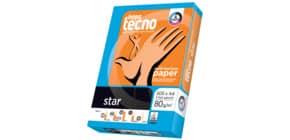 Kopierpapier A4 80g 500BL 2f-gel weiß INAPA TECNO 0139 080 11 00 1 Produktbild