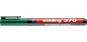 Permanentmarker 1mm grün EDDING 370-004 Produktbild