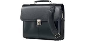 Aktentasche Leder schwarz Produktbild