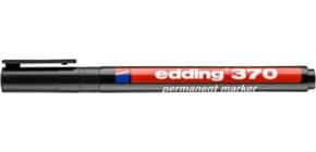 Permanentmarker 370 schwarz EDDING 4-370001 Produktbild