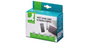 Reinigungtücher nass/trocken Q-CONNECT KF32148 20x2St Produktbild
