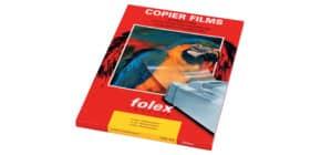 Laserfolie 100BL A4 glasklar FOLEX 39100.100.44000 X-10.0 Produktbild