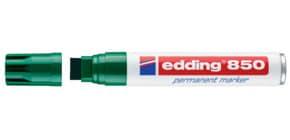 Permanentmarker 850 5-15mm grün EDDING 850-004 Keilspitze nachfüllbar Produktbild