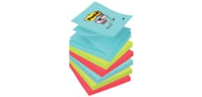 Haftnotizblock Z-Notes 6ST Miami POST-IT R3306SMI 76x76mm Produktbild