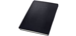 Collegeblock ca.A4 liniert schwarz CONCEPTUM CO841 mit Reg. Hardcover Produktbild