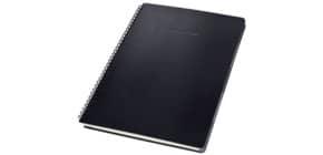 Collegeblock ca.A4 kariert schwarz CONCEPTUM CO840 mit Reg. Hardcover Produktbild