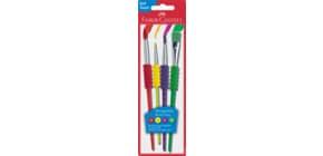 12 Farben Farbkasten Blau Connector Faber-Castell 125001 12er Farbkasten /& Wasserbecher