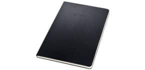 Notizblock ca.A5 liniert schwarz CONCEPTUM CO803 Hardcover Produktbild