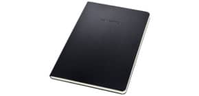 Notizblock ca.A5 kariert schwarz CONCEPTUM CO802 Hardcover Produktbild